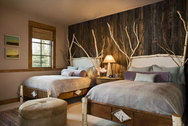 bedroom decorating ideas and designs Remodels Photos Design Associates - Lynette Zambon, Carol Merica Bozeman Montana rustic-bedroom-001