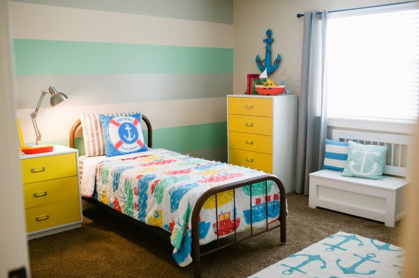 bedroom decorating ideas and designs Remodels Photos Design Loves Detail Provo Utah United States contemporary-kids