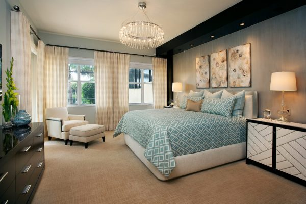 bedroom decorating ideas and designs Remodels Photos Design West Naples Florida United States contemporary-bedroom