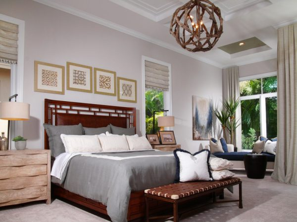 bedroom decorating ideas and designs Remodels Photos Design West Naples Florida United States traditional-bedroom