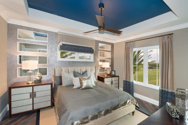 bedroom decorating ideas and designs Remodels Photos Design West Naples Florida United States transitional-bedroom-001