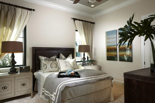 bedroom decorating ideas and designs Remodels Photos Design West Naples Florida United States transitional-bedroom-002