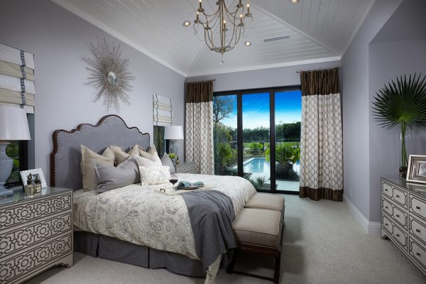 bedroom decorating ideas and designs Remodels Photos Design West Naples Florida United States transitional-bedroom-004