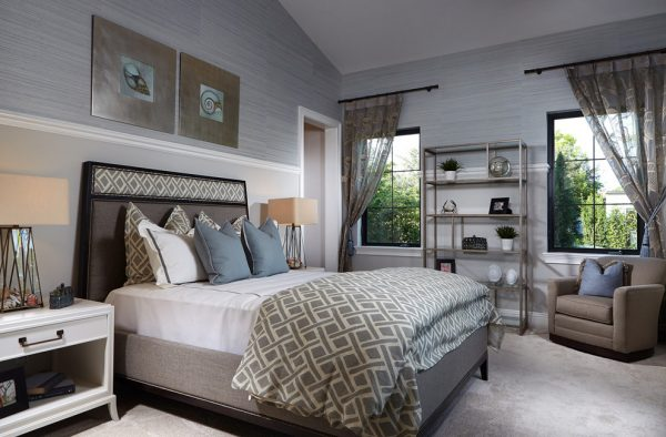 bedroom decorating ideas and designs Remodels Photos Design West Naples Florida United States transitional-bedroom