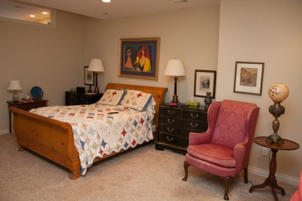bedroom decorating ideas and designs Remodels Photos Designer's Choice Interiors Plymouth Michigan United States eclectic-bedroom-001