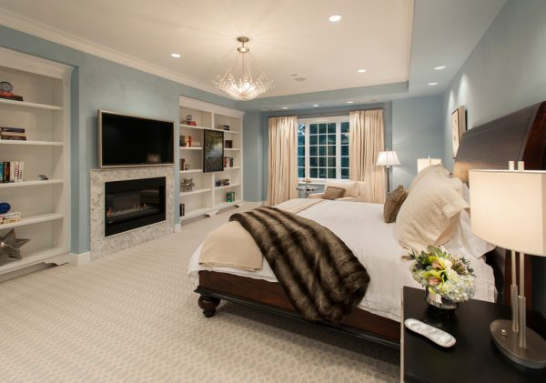 bedroom decorating ideas and designs Remodels Photos Diane Bishop Interiors Blue Bell Pennsylvania United States contemporary-bedroom