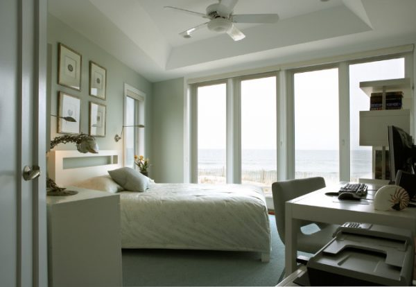 bedroom decorating ideas and designs Remodels Photos Diane Burgoyne Interiors Medford New Jersey United States beach-style-bedroom