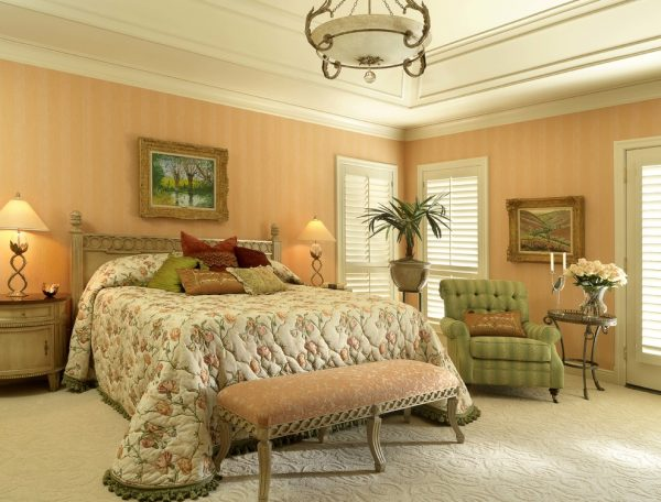 bedroom decorating ideas and designs Remodels Photos Directions In Design, Inc. Louis Missouri United States transitional-bedroom-001
