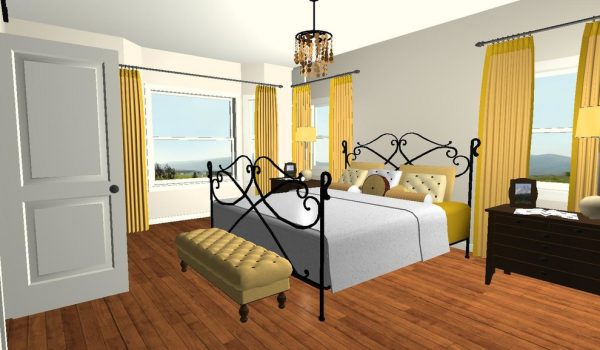 bedroom decorating ideas and designs Remodels Photos Distinctive Interior Designs Monmouth Junction New Jersey United States traditional-rendering