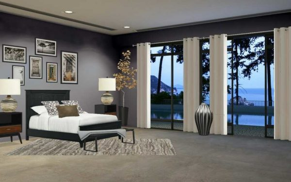 bedroom decorating ideas and designs Remodels Photos Dolce Designs Tampa Florida United States contemporary-rendering-001