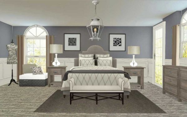 bedroom decorating ideas and designs Remodels Photos Dolce Designs Tampa Florida United States contemporary-rendering