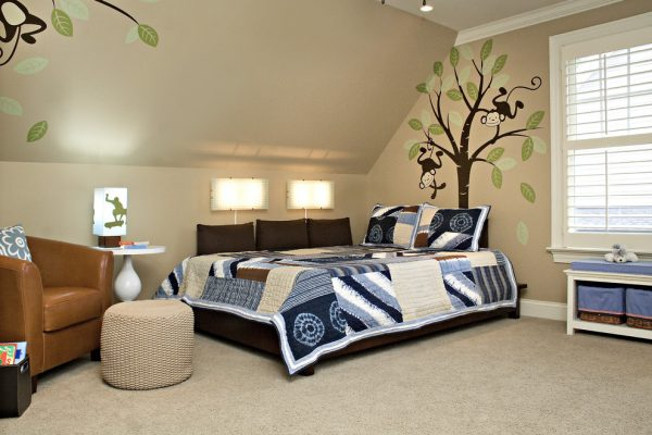 bedroom decorating ideas and designs Remodels Photos Driggs Designs Wake Forest North Carolina United States eclectic-kids