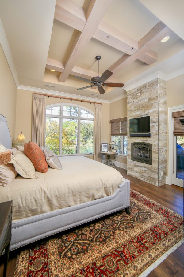 bedroom decorating ideas and designs Remodels Photos Durham Designs & Consulting, LLC Huntersville North Carolina rustic-bedroom-001