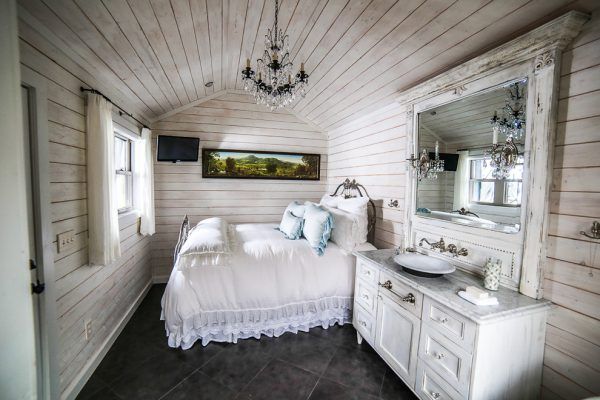 bedroom decorating ideas and designs Remodels Photos Durham Designs & Consulting, LLC Huntersville North Carolina shabby-chic-style-bedroom