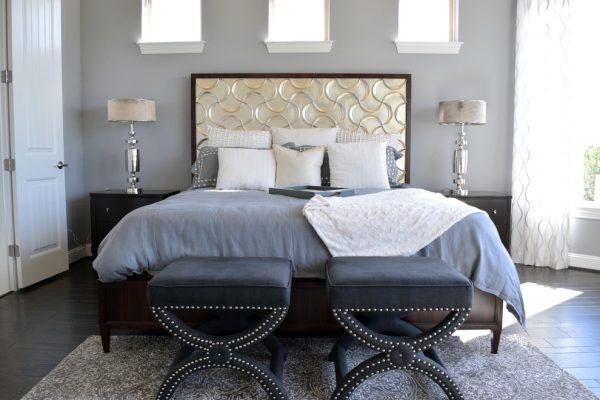 bedroom decorating ideas and designs Remodels Photos Dy Lynne Décor, Inc. San Antonio Texas United States transitional