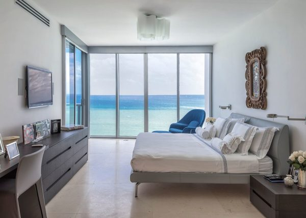 bedroom decorating ideas and designs Remodels Photos Eclipse Designs Inc. by Rhona Chartouni Key Biscayne Florida contemporary-bedroom-001