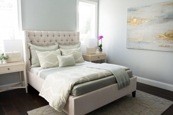 bedroom decorating ideas and designs Remodels Photos Eden LA Furniture and Interiors Manhattan Beach California transitional-bedroom