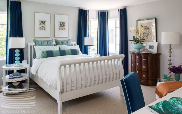 bedroom decorating ideas and designs Remodels Photos Emily Ruddo Los Angeles California United States transitional-bedroom