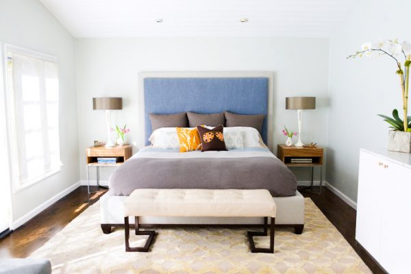 bedroom decorating ideas and designs Remodels Photos Erinn V Design Group Beverly Hills California United States midcentury-bedroom