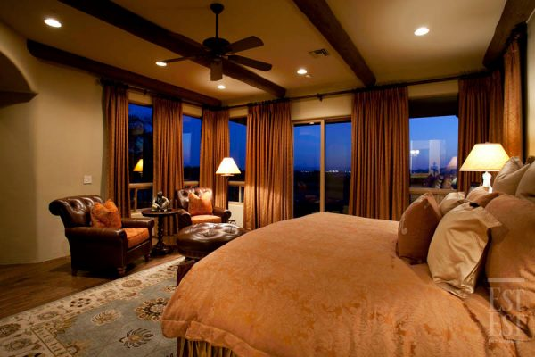 bedroom decorating ideas and designs Remodels Photos Est Est, Inc. Scottsdale Arizona United States mediterranean-bedroom-007