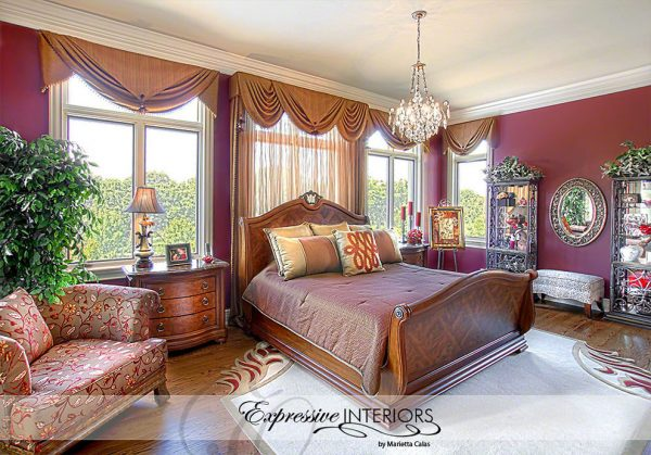 bedroom decorating ideas and designs Remodels Photos Expressive Interiors by Marietta Calas Long Grove Illinois traditional