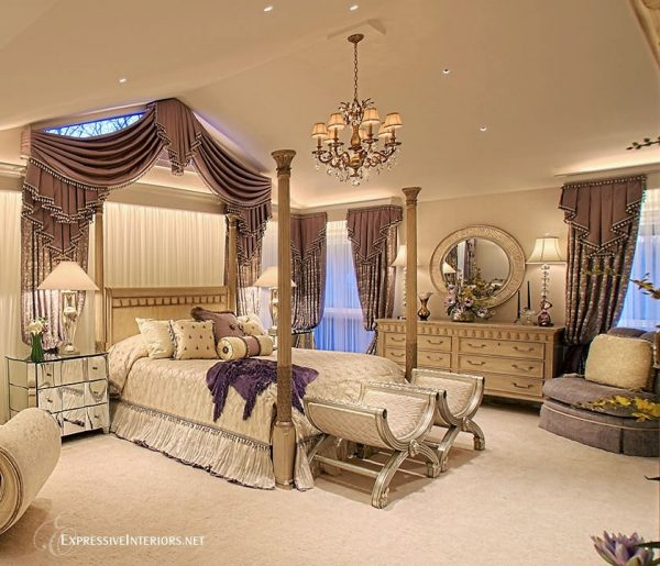 bedroom decorating ideas and designs Remodels Photos Expressive Interiors by Marietta Calas Long Grove Illinois traditional-bedroom-001
