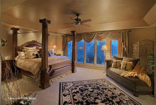 bedroom decorating ideas and designs Remodels Photos Expressive Interiors by Marietta Calas Long Grove Illinois traditional-bedroom