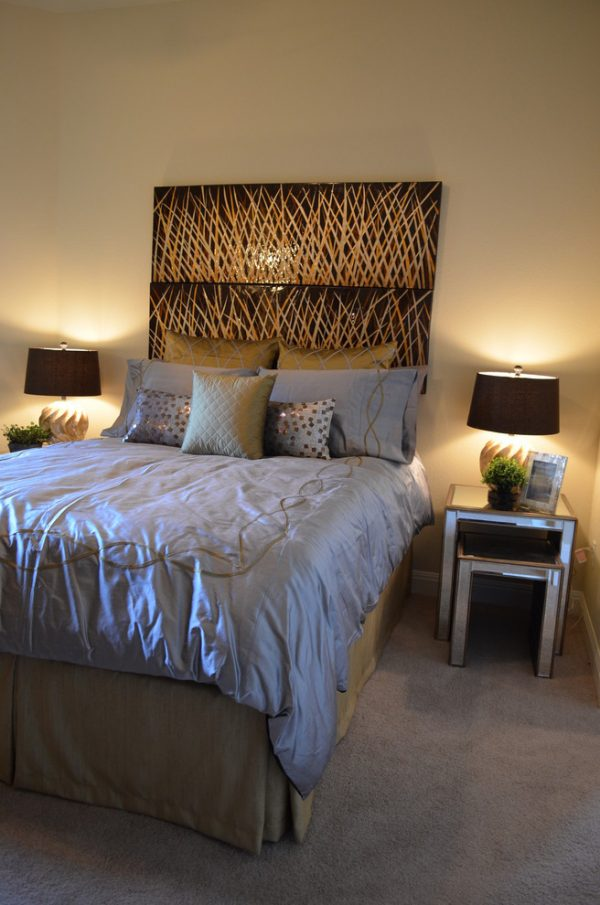 bedroom decorating ideas and designs Remodels Photos Finishing Touches Interior Design San Antonio Texas United States contemporary-bedroom-001