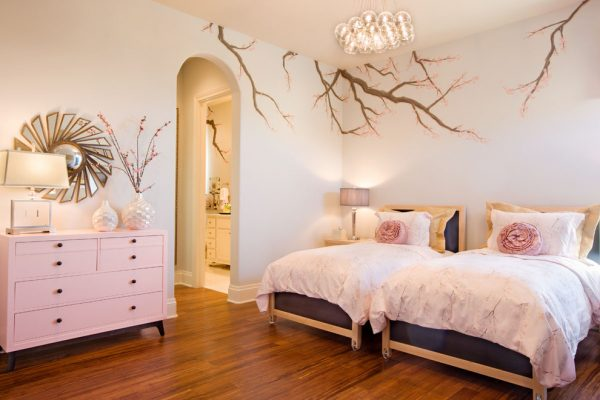 bedroom decorating ideas and designs Remodels Photos Finishing Touches Interior Design San Antonio Texas United States eclectic-bedroom