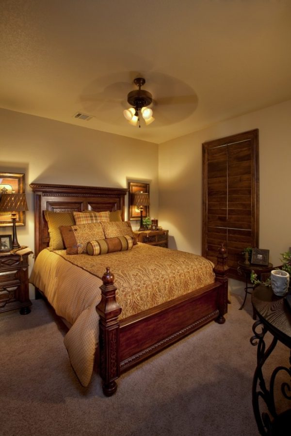 bedroom decorating ideas and designs Remodels Photos Finishing Touches Interior Design San Antonio Texas United States mediterranean-bedroom-001