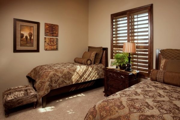 bedroom decorating ideas and designs Remodels Photos Finishing Touches Interior Design San Antonio Texas United States mediterranean-bedroom