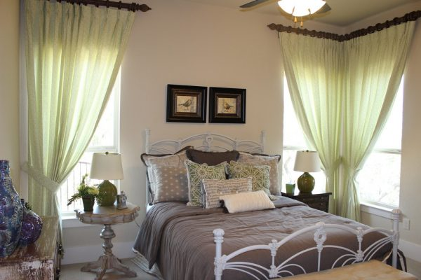 bedroom decorating ideas and designs Remodels Photos Finishing Touches Interior Design San Antonio Texas United States rustic-bedroom