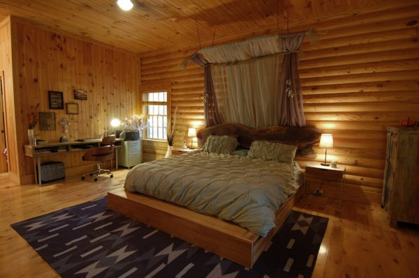 bedroom decorating ideas and designs Remodels Photos Freespace Design LLC Charlotte North Carolina United States rustic-bedroom