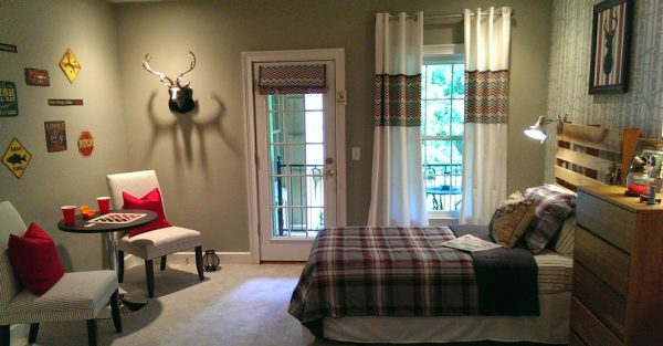 bedroom decorating ideas and designs Remodels Photos G&G Interior Design Birmingham Alabama United States rustic-bedroom
