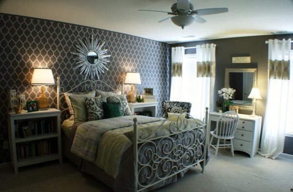 bedroom decorating ideas and designs Remodels Photos G&G Interior Design Birmingham Alabama United States transitional-bedroom-007