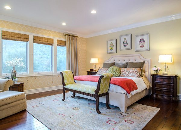 bedroom decorating ideas and designs Remodels Photos Genoveve Serge Interior Design, CID # 6795 Newbury Park contemporary-bedroom-002