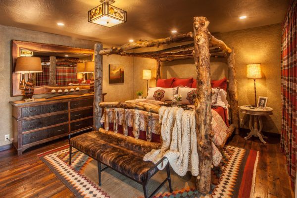 bedroom decorating ideas and designs Remodels Photos Gina McMurtrey Interiors Willard  Missouri United States rustic-bedroom-001