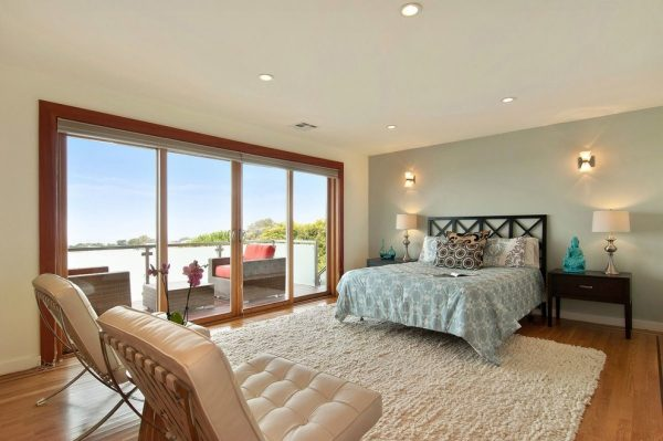bedroom decorating ideas and designs Remodels Photos Heather Cleveland Design Oakland California United States contemporary-bedroom-006