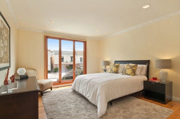 bedroom decorating ideas and designs Remodels Photos Heather Cleveland Design Oakland California United States contemporary-bedroom