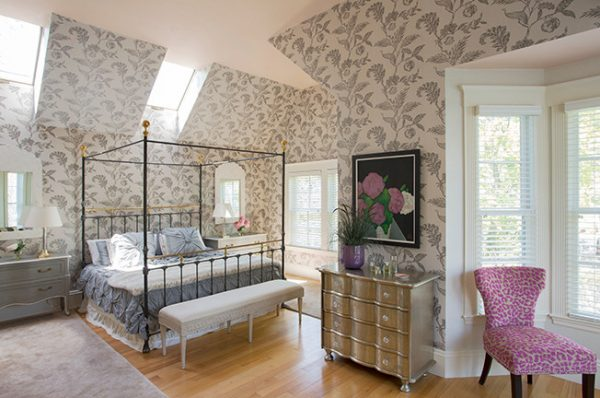 bedroom decorating ideas and designs Remodels Photos Heidi Pribell Interiors cambridge massachusetts United States eclectic-bedroom