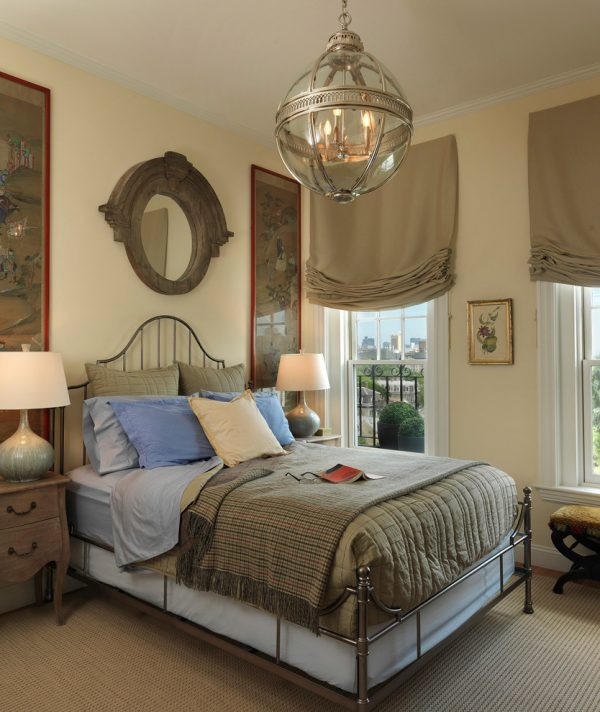 bedroom decorating ideas and designs Remodels Photos Heidi Pribell Interiors cambridge massachusetts United States transitional-bedroom