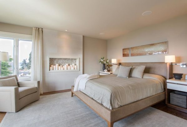 bedroom decorating ideas and designs Remodels Photos Hilary Young Design Associates Seattle Washington United States contemporary-bedroom