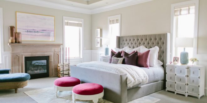 bedroom decorating ideas and designs Remodels Photos House of Jade Interiors South Jordan Utah United States transitional-bedroom-003