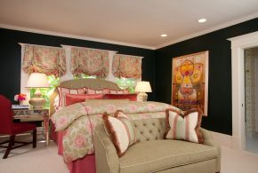 Bedroom Decorating and Designs by House of Ruby Interior Design - Hillsborough, California, United States