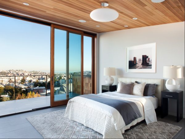 bedroom decorating ideas and designs Remodels Photos Ian Stallings San Francisco California United States contemporary-bedroom