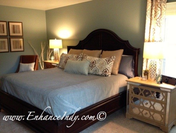 bedroom decorating ideas and designs Remodels Photos Interior Enhancements of Indianapolis Indianapolis Indiana transitional-bedroom