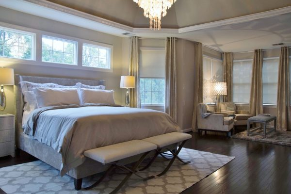 bedroom decorating ideas and designs Remodels Photos Interior Style by Marisa Moore South Riding Virginia United States transitional-bedroom-002