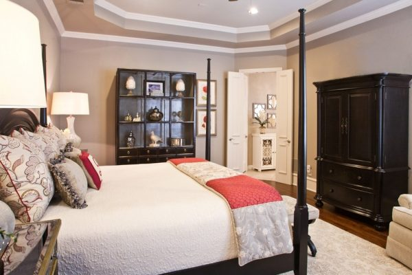 bedroom decorating ideas and designs Remodels Photos Interiors by Kathy Rollins, LLC McKinney Texas United States traditional-bedroom-003
