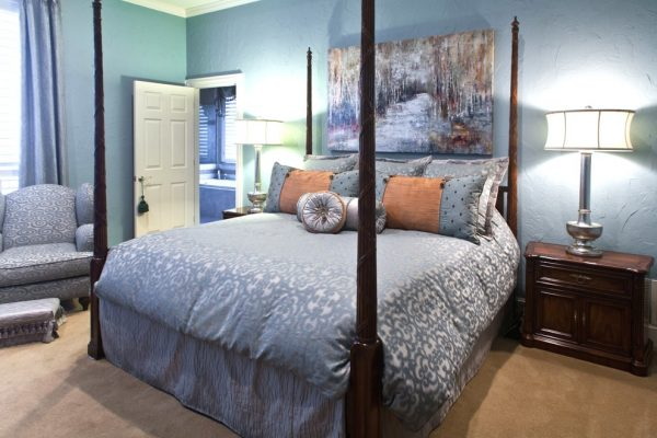 bedroom decorating ideas and designs Remodels Photos Interiors by Kathy Rollins, LLC McKinney Texas United States traditional-bedroom-004