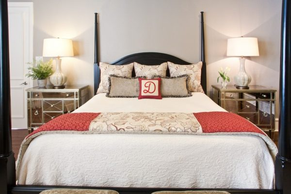 bedroom decorating ideas and designs Remodels Photos Interiors by Kathy Rollins, LLC McKinney Texas United States traditional-bedroom